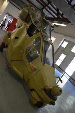 Volandia Parco e Museo del Volo Malpensa: ELICOTTERO DA GUERRA