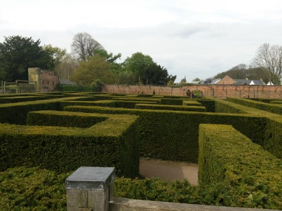 Rotherham, UK: The maze at Wentworth