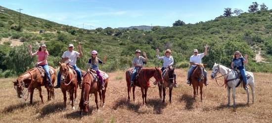 Ramona, CA: Celebrating our 10 year old niece's birthday with Adventures On Horseback