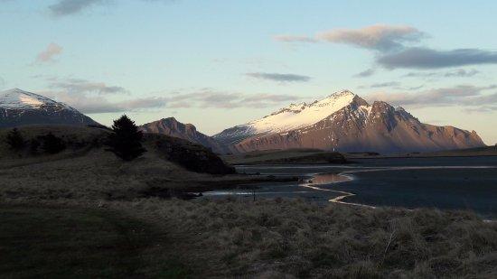 Hofn, Iceland: Útsýnið á leiðinni. The view on the way