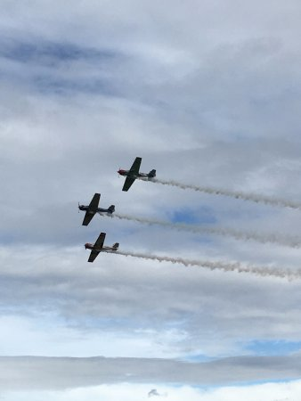 Omaka Aviation Heritage Centre: Air acrobatics