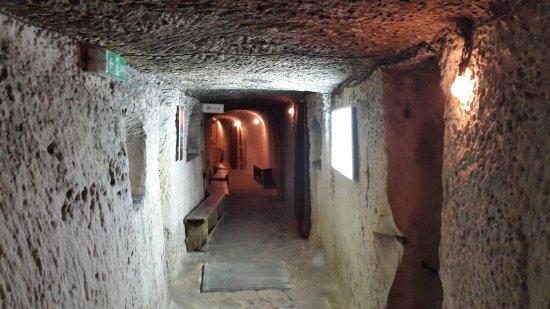 Birgu (Vittoriosa), Malta: Underground Shelter