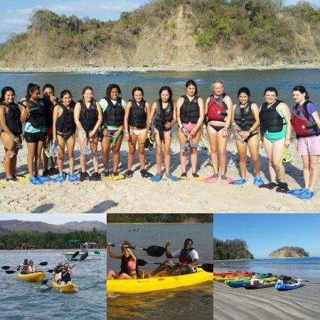 Playa Samara, Costa Rica: Tour isla Chora en Kayak