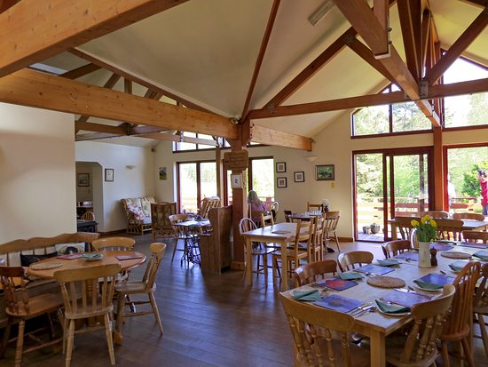 Strontian, UK: relaxing dining in the country