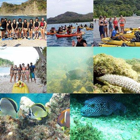 Playa Samara, Costa Rica: Isla Chora con algunos de nuestros aventureros!