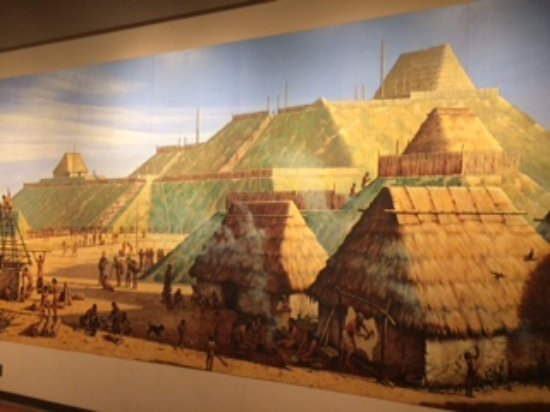 Collinsville, IL: Painitng of Monk's Mound