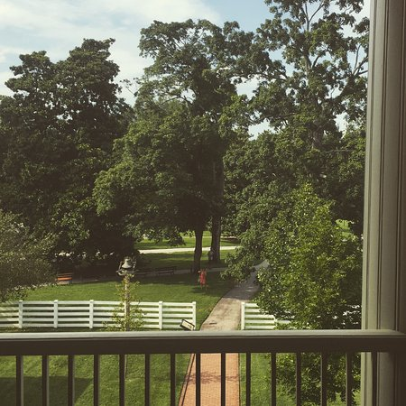 Andrew Jackson's Hermitage : From the second floor a view of the farm