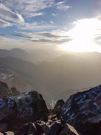 Imlil, Morocco: Mount Toubkal at sunrise