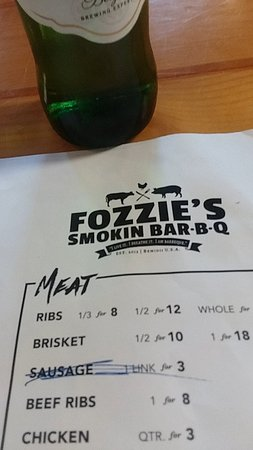 Bemidji, MN: Fozzie's Smoking BarBQ