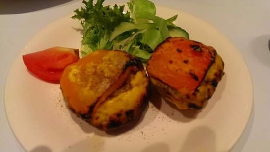 Ormond, Australia: Tandoori stuffed mushrooms