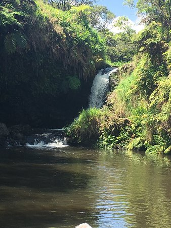 Kukuihaele, Hawaje: sacred swimming hole