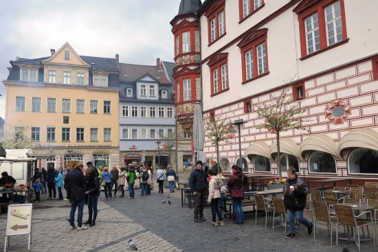 stadthaus coburger marktplatz bild von marktplatz coburg tripadvisor. Black Bedroom Furniture Sets. Home Design Ideas