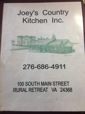 Joey S Country Kitchen Rural Retreat