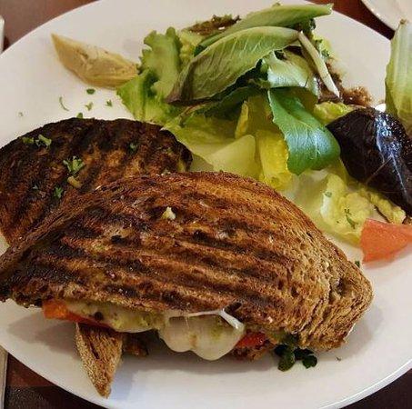 Lititz, Пенсильвания: Veggie panini