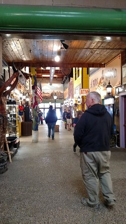 Move from one store to the next all inside Wall Drug