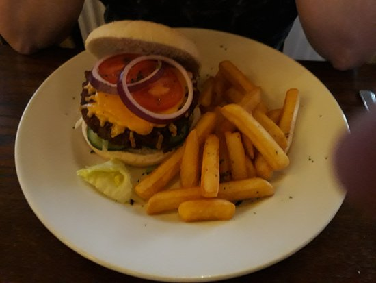 New Galloway, UK: Vegi Burger