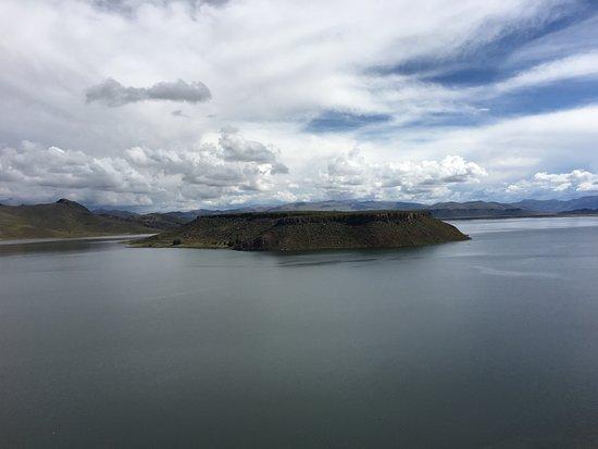 Sillustani: Umayo lake