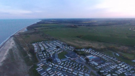 Kessingland, UK: Drone shot of the complex