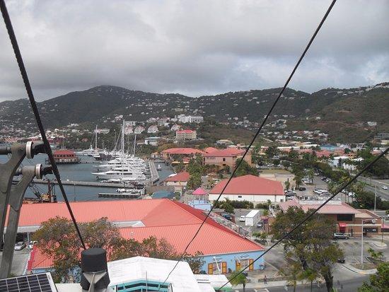 South Coast, St. Thomas: Cable Car To Paradise Point, St Thomas