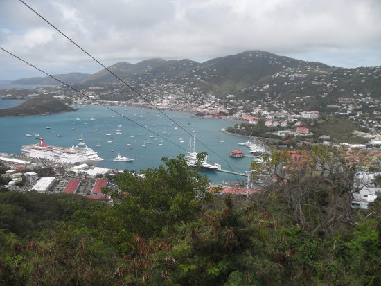 South Coast, St. Thomas: View from Paradise Point