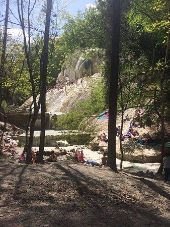 Bagni di San Filippo, Италия: Località top Ottime terme naturali dove rilassarsi e immergersi nella natura.  Da consigliare a