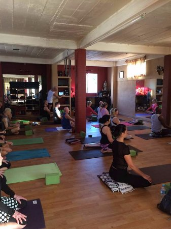 Yoga Vallarta: Meditation and breath to start off your yoga class.