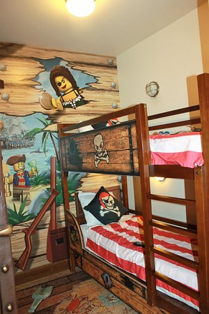 Bunk Beds In Our Room Picture Of Legoland California Hotel