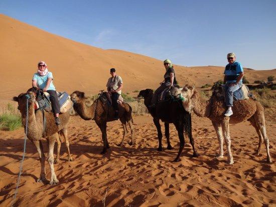 Image of: Painting Rayan Desert Trip Caravan Travelers To Erg Chebbi Dunes Tripadvisor Caravan Travelers To Erg Chebbi Dunes Picture Of Rayan Desert Trip