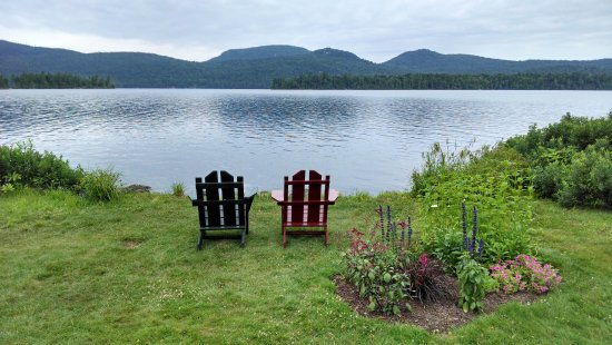 Blue Mountain Lake-billede