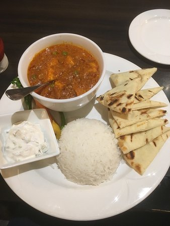 Fort McMurray, แคนาดา: Butter chicken - so good