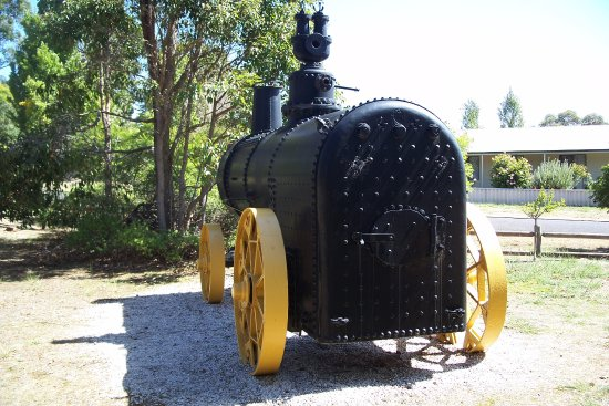 Greenbushes, Australia: Locomotive boiler