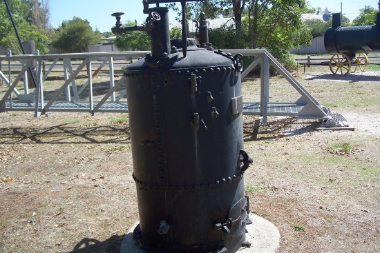Greenbushes, Australia: Steam boiler