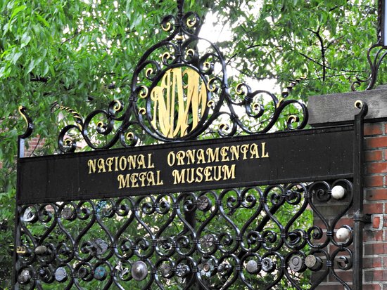 Metal Museum: Entrance