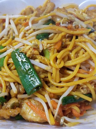 Noblesville, IN: Our Lo Mein is great for adults and easy for children to eat, too!