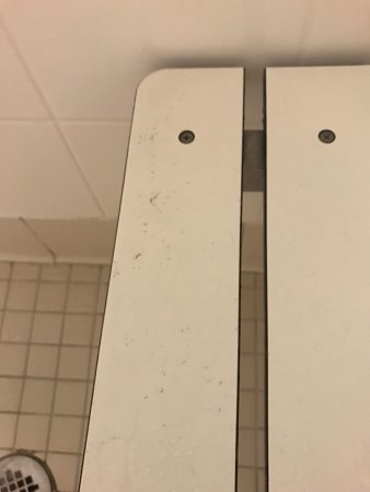 College Park, GA: no hot water bathroom had pubic hairs left from prior guest room wasn't clean