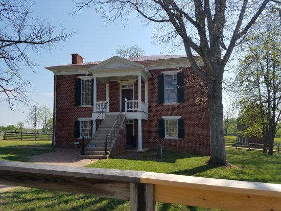 Appomattox Court House and Visitor center