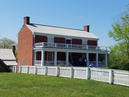 Appomattox, VA: Civil War surrender signing house