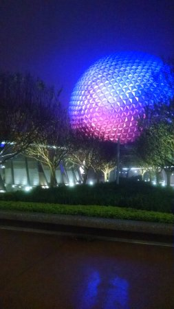 Iconic Epcot ball