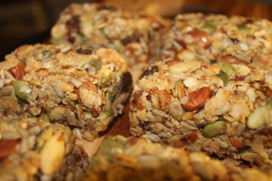 Raw, Vegan Granola Bars - Picture of The Sandwich Bros ...