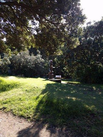 أوكلاند, نيوزيلندا: Statue