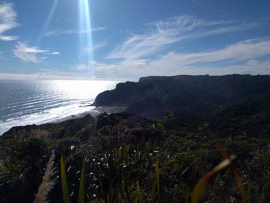 أوكلاند, نيوزيلندا: Overlooking Karekare