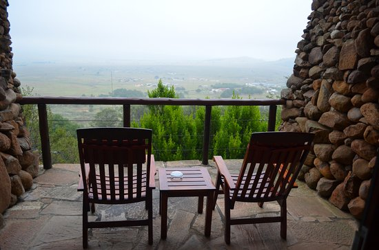 Isandlwana, Sudáfrica: Each room has its own private balcony with a perfect view.