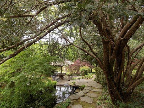 Newnan, GA: Entrance to Japanese Garden.