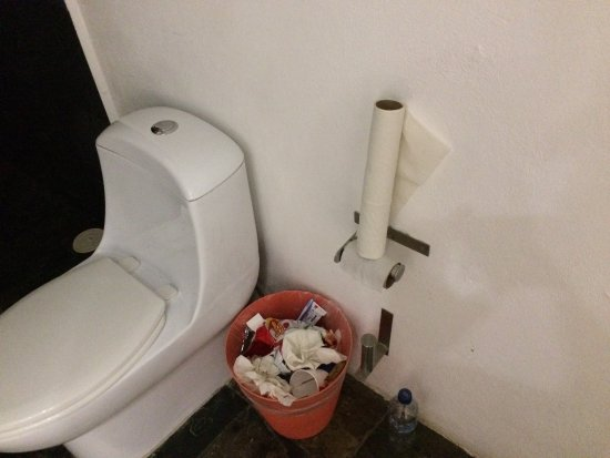 Ran out of toilet paper and was told to wait for next day