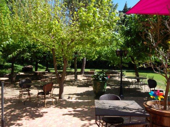Althen-des-Paluds, Frankrijk: vue jardin