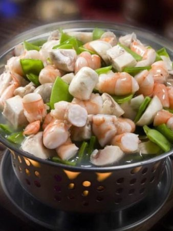 Deming, Nuevo Mexico: Shrimp lobster sauce