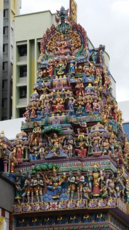 Photo of Neighborhood Chinatown at Temple St., Singapore, Singapore