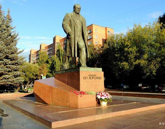 Academician Korolev Statue