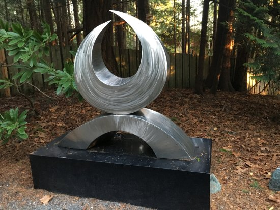Bellingham, WA: One of the permanent pieces in the park