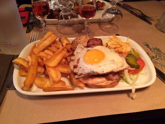 Le Chesnay, Fransa: Burger New York